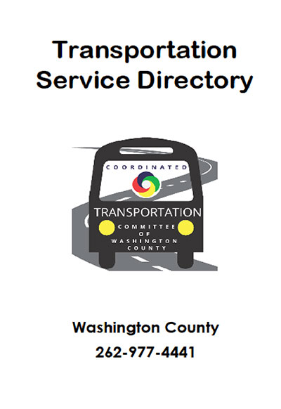 Transportation Service Directory for Washington County
